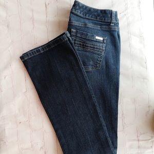 [White house black market] contour Bootcut Jean 2R